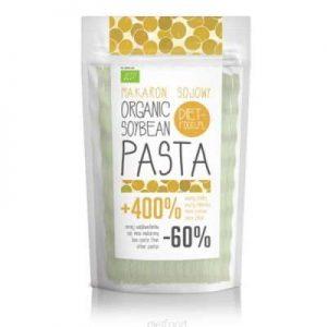Organisk sojabønne pasta