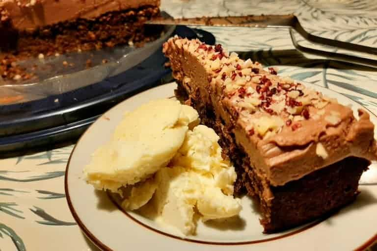 Glutenfri Chokoladekage med Chokoladecreme