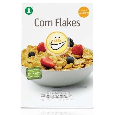 Glutenfri cornflakes til morgenmaden