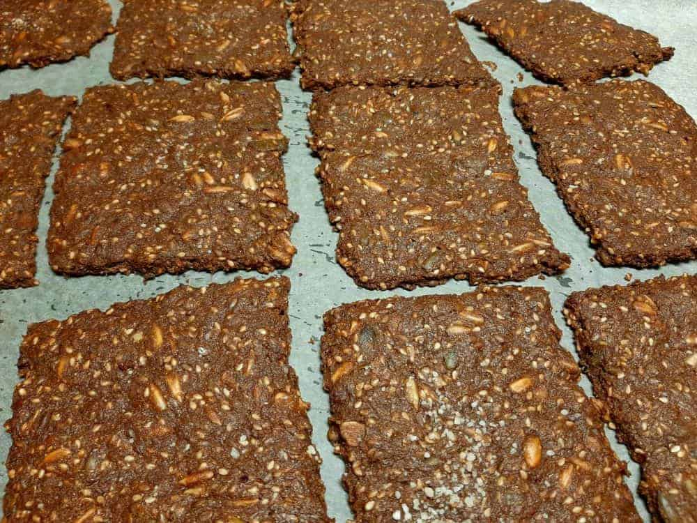 Glutenfri Knækbrød med Kakao