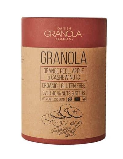 Granola med æble og appelsin