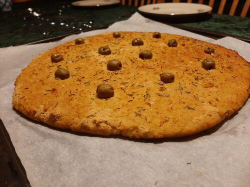 Glutenfri Foccacia brød