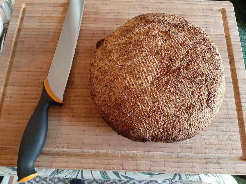Det færdigbagte glutenfri hirsebrød
