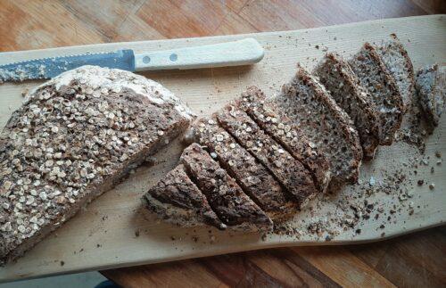 Glutenfri Brød med havre, ris og boghvede