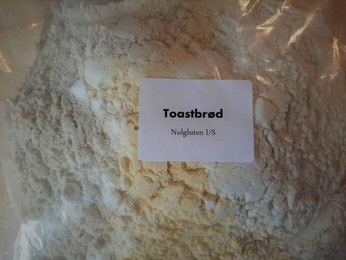 Glutenfri Bageblanding fra Nulgluten til et toastbrød