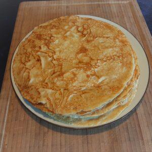 Bageblanding til glutenfri pandekager