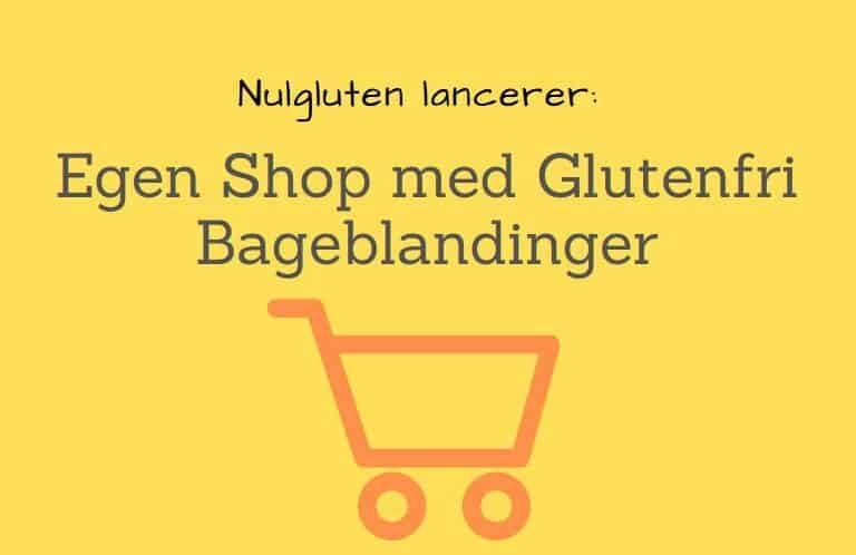 Lancering af Egen Shop med Glutenfri Bageblandinger